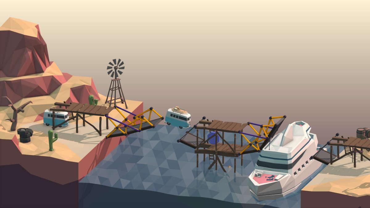 Poly-bridge-gameplay