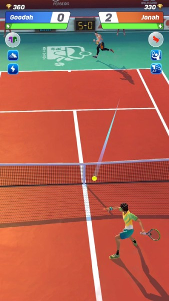 Tennis Clash-Online-League-gameplay