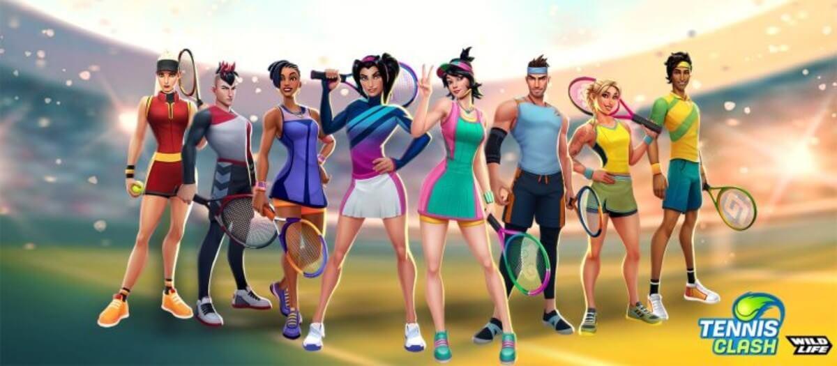 Tennis-Clash-Online-League