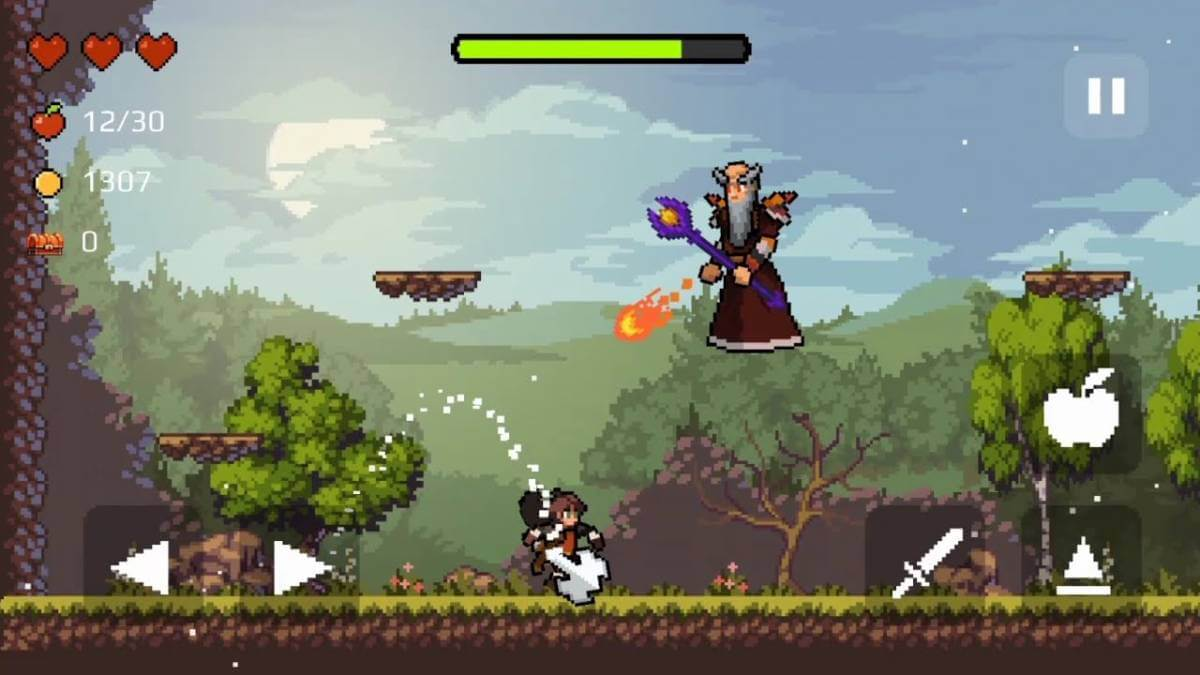 Apple-Knight-game
