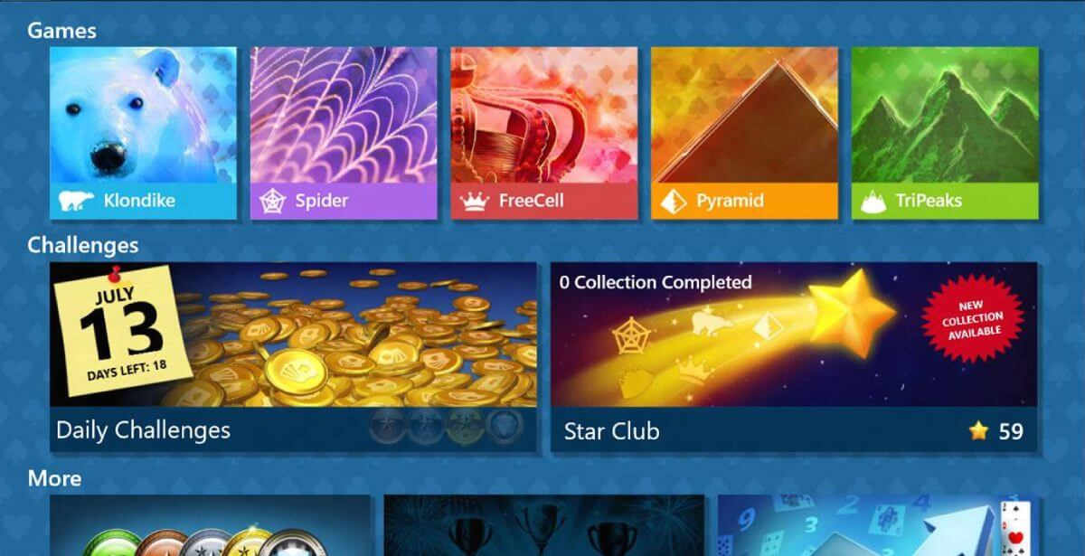 Microsoft-Solitaire-Collection-game
