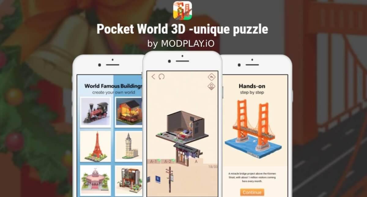 Pocket-World-3D-game